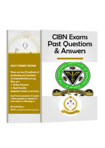 CIBN Past Questions and Answers Download Free PDF