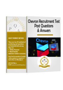 Chevron Recruitment Test Past Questions And Answers PDF