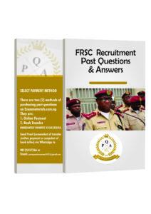 FRSC Recruitment Test Past Questions