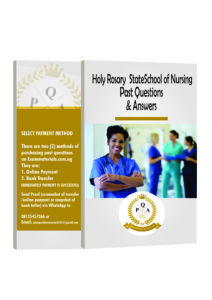 Holy Rosary School of Nursing Emekuku Past Questions