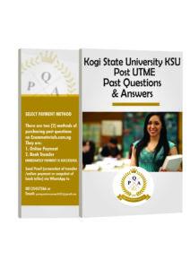 KSU Post-UTME PAST QUESTIONS