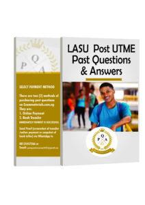 LASU Post UTME Past Questions
