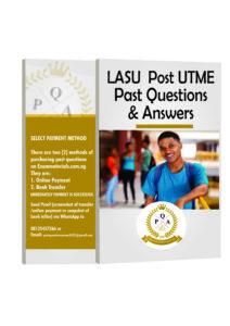 LASU Post UTME Past Questions