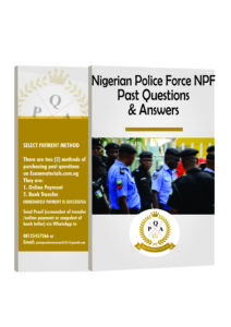 Nigerian Police Force NPF Recruitment Past Questions