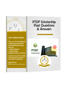 PTDF Undergraduate Past Questions