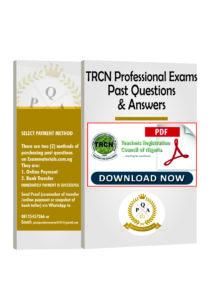 TRCN Examination Past Questions