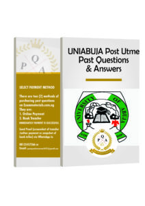 UNIABUJA Post Utme Past Questions And Answers Download PDF