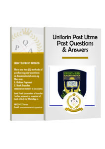Unilorin Post UTME Past Questions