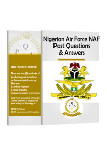 Nigerian Air Force Past Questions & Answers | NAF Aptitude Test