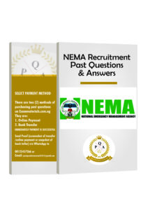 NEMA Recruitment Past Questions