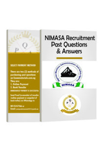 NIMASA Recruitment_PAST QUESTIONS ARENA