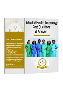 School of Health Technology Past Questions