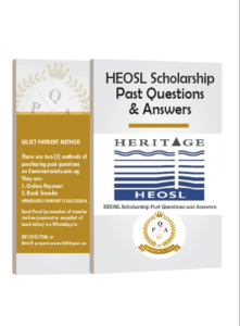 HEOSL Scholarship Past Questions and Answers 2021