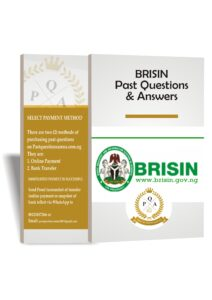 BRISIN Recruitment Past Questions And Answers Download PDF 2021