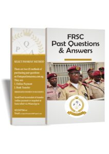 FRSC Past Questions | Road Safety Past Questions/Answers PDF Download