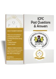 ICPC Past Questions and Answers PDF Download Up to Date