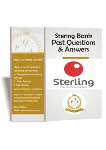 Sterling Bank Recruitment Past Questions And Answers 2021