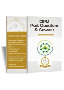 2021 CIPM Past Questions And Answers PDF