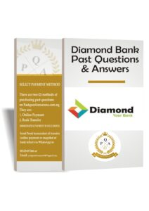 Diamond Bank Past Questions And Answers   Up to Date PDF