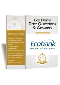 Eco Bank Aptitude Test Past Questions And Answers   Up to Date