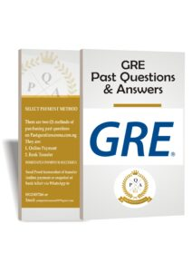 GRE Past Questions And Answers 2021 Download PDF