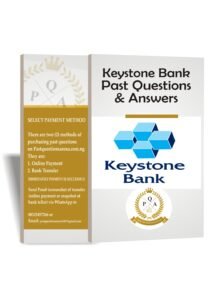 Keystone Bank Past Questions And Answers PDF Download