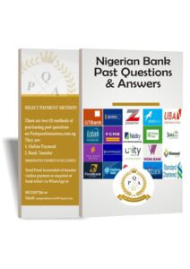 Bank Aptitude Test Past Questions/Answers For Bank Jobs In Nigeria