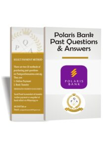 Polaris Bank Past Questions And Answers PDF Up to Date