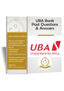 UBA Bank Past Questions And Answers   Up to Date PDF
