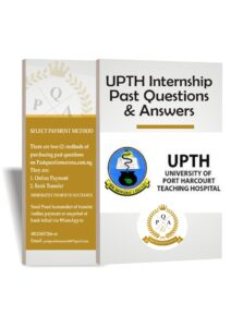 UPTH Internship Past Questions And Answers Download PDF