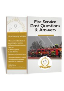 Fire Service Past Questions and Answers PDF Download 2021