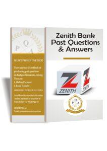 Zenith Bank Past Questions & Answers   Zenith Bank Aptitude Test Past Questions